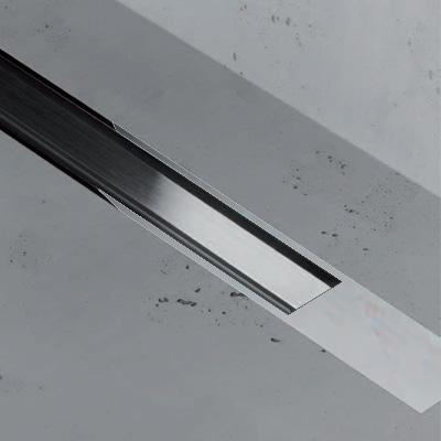ESS Easy Drain XS TAF Zero+ Z-2 Abdeckung für Duschrinne: 80 cm, edelstahl gebürstet