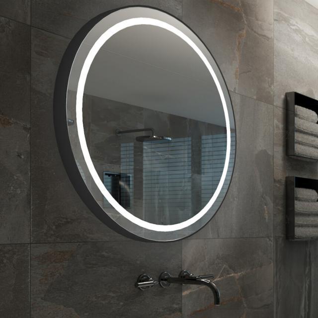 ESS Iseo Spiegel mit LED-Beleuchtung anthrazit