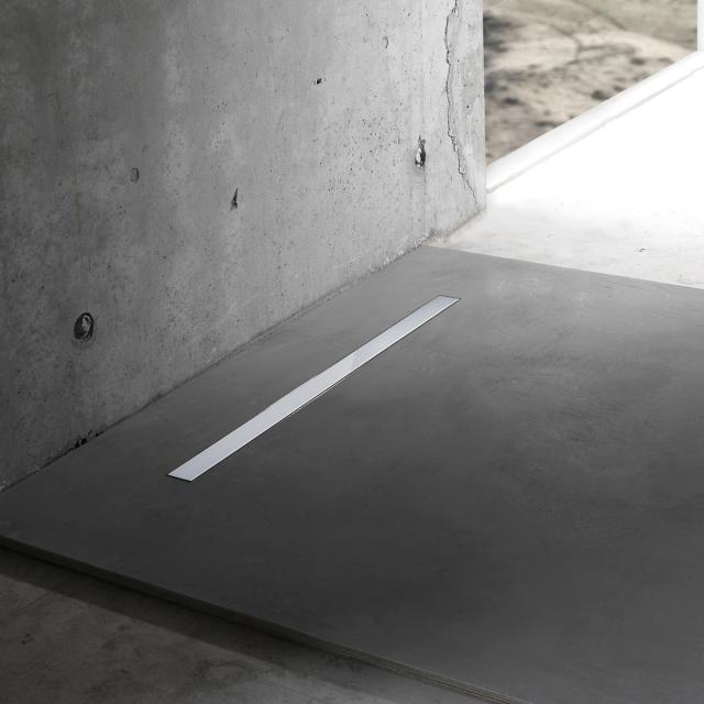 ESS Modulo Basic Zero Edelstahl poliert für Duschrinne: 80 cm