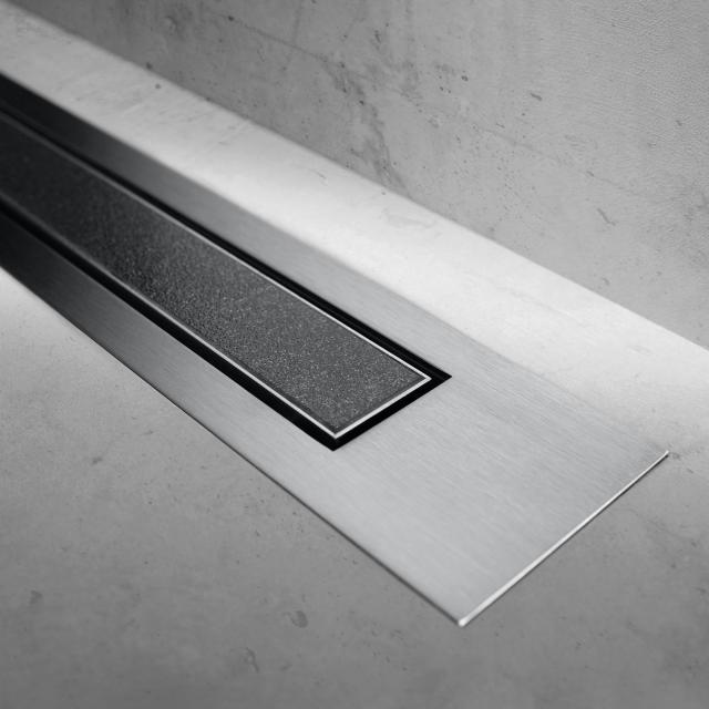 ESS Modulo Design Z-4 Abdeckung befliesbar für Duschrinne: 80 cm, edelstahl gebürstet/befliesbar