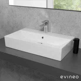 Evineo ineo3 edge Aufsatz- oder Hängewaschtisch B: 70 T: 42 cm