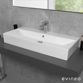Evineo ineo3 edge Aufsatz- oder Hängewaschtisch B: 90 T: 42 cm