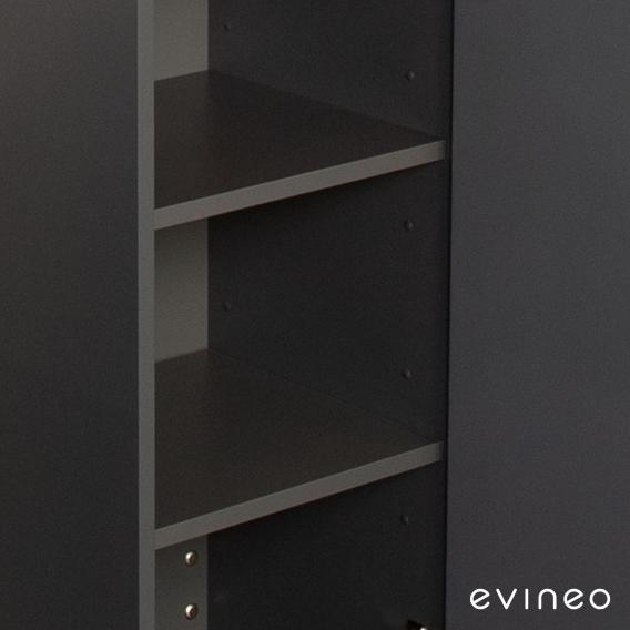 Evineo ineo Holzfachboden-Set für Hochschrank, 4 Stück