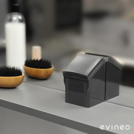Evineo ineo Spiegelschrank mit integrierter LED-Beleuchtung, mit 3 Türen