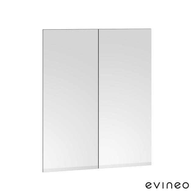 Evineo ineo Spiegelfront-Set für Spiegelschrank mit 2 Türen B: 60 cm