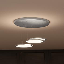 EVOTEC Bellini LED Pendelleuchte mit Dimmer 3-flammig rund