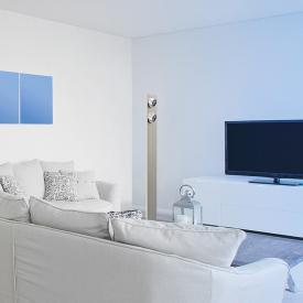 EVOTEC Lightwave LED Stehleuchte mit Dimmer
