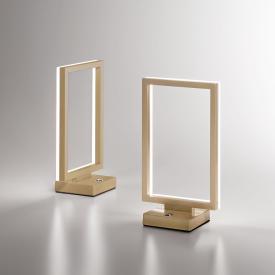 Fabas Luce Bard LED Tischleuchte mit Dimmer