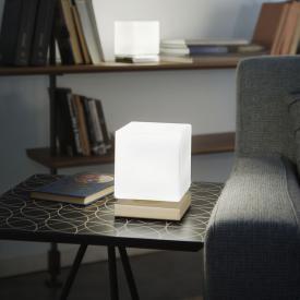 Fabas Luce Brenta LED Tischleuchte mit Dimmer
