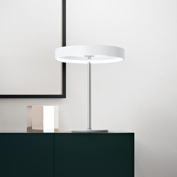 Fabas Luce Double LED Tischleuchte mit Dimmer