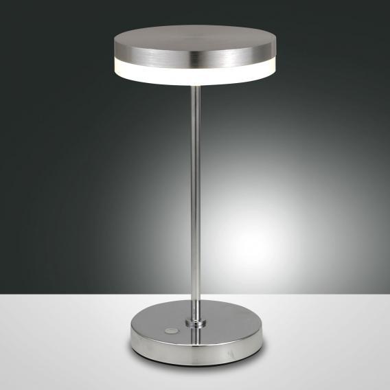 Fabas Luce Mabel LED Tischleuchte mit Dimmer