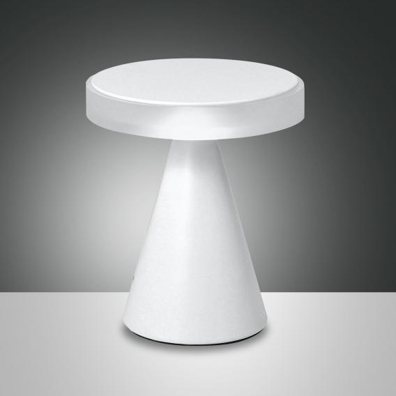 Fabas Luce Neutra LED Tischleuchte mit Dimmer, klein