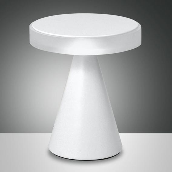 Fabas Luce Neutra LED Tischleuchte mit Dimmer, groß