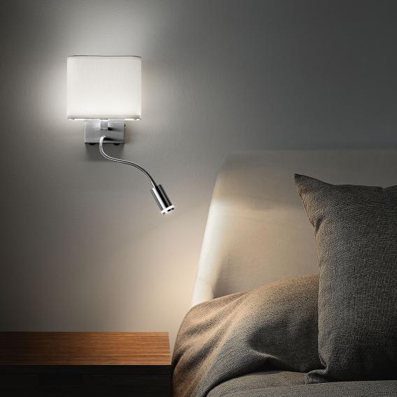 FABAS LUCE Viertri LED Wandleuchte mit Flexarm