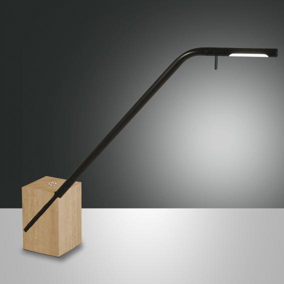 Fabas Luce Viktor LED Tischleuchte mit Dimmer
