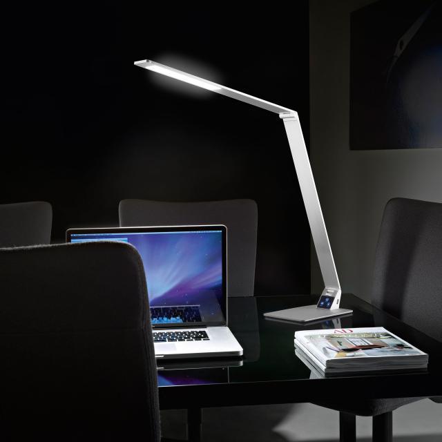 FABAS LUCE Wasp USB LED Tischleuchte mit Dimmer und Farbtemperatur einstellbar