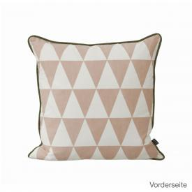 ferm LIVING Large Geometry Kissen