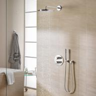 Grohe Grohtherm 3000 Cosmopolitan concealed shower system with Rainshower Cosmopolitan 310