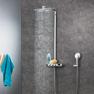 Grohe Rainshower System SmartControl 360 DUO shower system thermostatic mixer