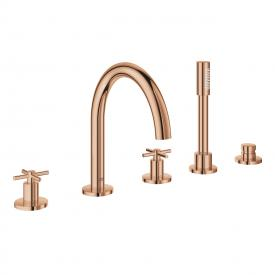 Grohe Atrio 5-Loch-Wannen-Kombination warm sunset