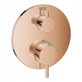 Grohe Atrio Thermostat-Brausebatterie mit 2-Wege-Umstellung für Rapido SmartBox warm sunset