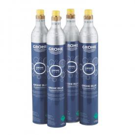 Grohe Blue Home CO2-Flaschen-SET, 425 Gramm, 4 Stück