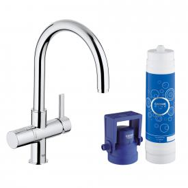 Grohe Blue Pure Starter Kit, C-Auslauf chrom