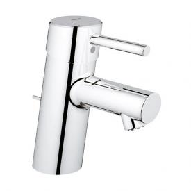 Grohe Concetto Einhand-Waschtischbatterie für offene Warmwasserbereiter, S-Size mit Ablaufgarnitur