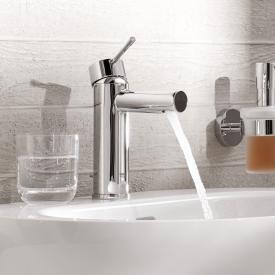 Grohe Essence Einhand-Waschtischbatterie, ES-Funktion, S-Size mit Ablaufgarnitur