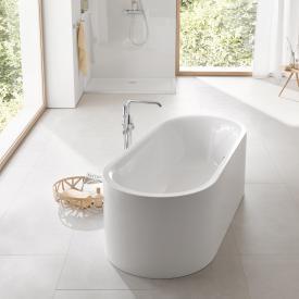 Grohe Essence freistehende Badewanne mit Überlauf