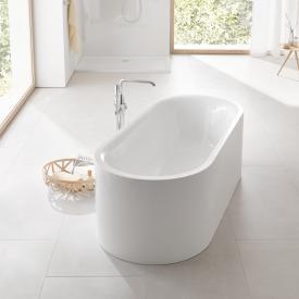 Grohe Essence Freistehende Oval-Badewanne ohne Überlauf, mit EasyClean