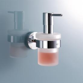 Grohe Essentials Seifenspender mit Halter chrom