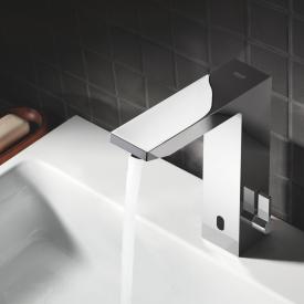 Grohe Eurocube E Infrarot-Elektronik für Waschtisch mit Mischung, mit Steckertrafo, ohne Ablaufgarnitur