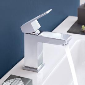 Grohe Eurocube Einhand-Waschtischbatterie mit Durchflussbegrenzung, S-Size ohne Ablaufgarnitur