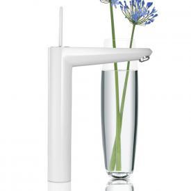 Grohe Eurodisc Joy Einhand-Waschtischbatterie, für Waschschüsseln, XL-Size ohne Ablaufgarnitur moon white/chrom