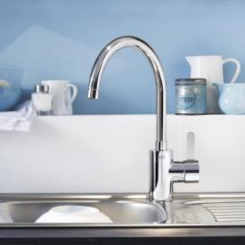 Grohe Eurosmart Cosmopolitan Einhand-Spültischbatterie DN15, für offene Warmwasserbereiter