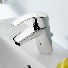 Grohe Eurosmart Einhand-Waschtischbatterie, S-Size mit Ablaufgarnitur aus Kunststoff