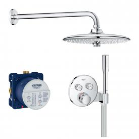Grohe Grohtherm SmartControl Duschsystem mit Thermostat & Euphoria 260 SmartControl Kopfbrause