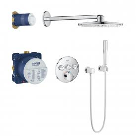 Grohe Grohtherm SmartControl Duschsystem Unterputz mit Mischer & Rainshower 310 SmartActive