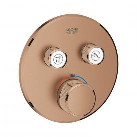 Grohe Grohtherm SmartControl Thermostat mit 2 Absperrventilen warm sunset gebürstet