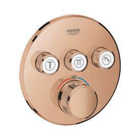 Grohe Grohtherm SmartControl Thermostat mit 3 Absperrventilen warm sunset