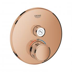 Grohe Grohtherm SmartControl Thermostat mit Absperrventil warm sunset