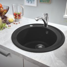Grohe K200 Einbauspüle granit schwarz