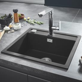 Grohe K700 Einbauspüle granit schwarz