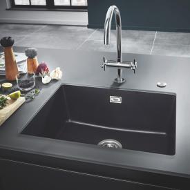 Grohe K700U Spüle granit schwarz