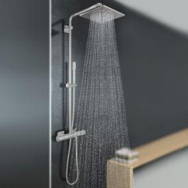 Grohe Rainshower F-Series System 254 Duschsystem mit Thermostatbatterie für die Wandmontage