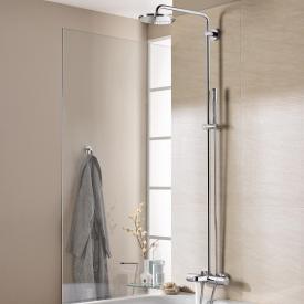 Grohe Rainshower System 210 Duschsystem mit Thermostat-Wannen-batterie für die Wandmontage