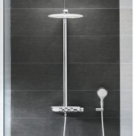 Grohe Rainshower System SmartControl 360 DUO Duschsystem mit Thermostatbatterie chrom/moonwhite