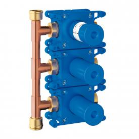 Grohe Rapido C Einbaubox für 3-fach Unterputz Ventil Fertigmontageset 27625
