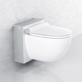 Grohe Sensia IGS Dusch-WC Komplettanlage für Unterputzspülkästen, Wandmontage weiß/chrom matt